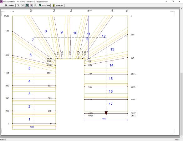 Intremas Treppenaufmass Fischer Software Design